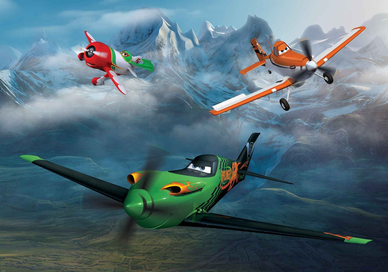 disney planes wall paper mural buy at europosters