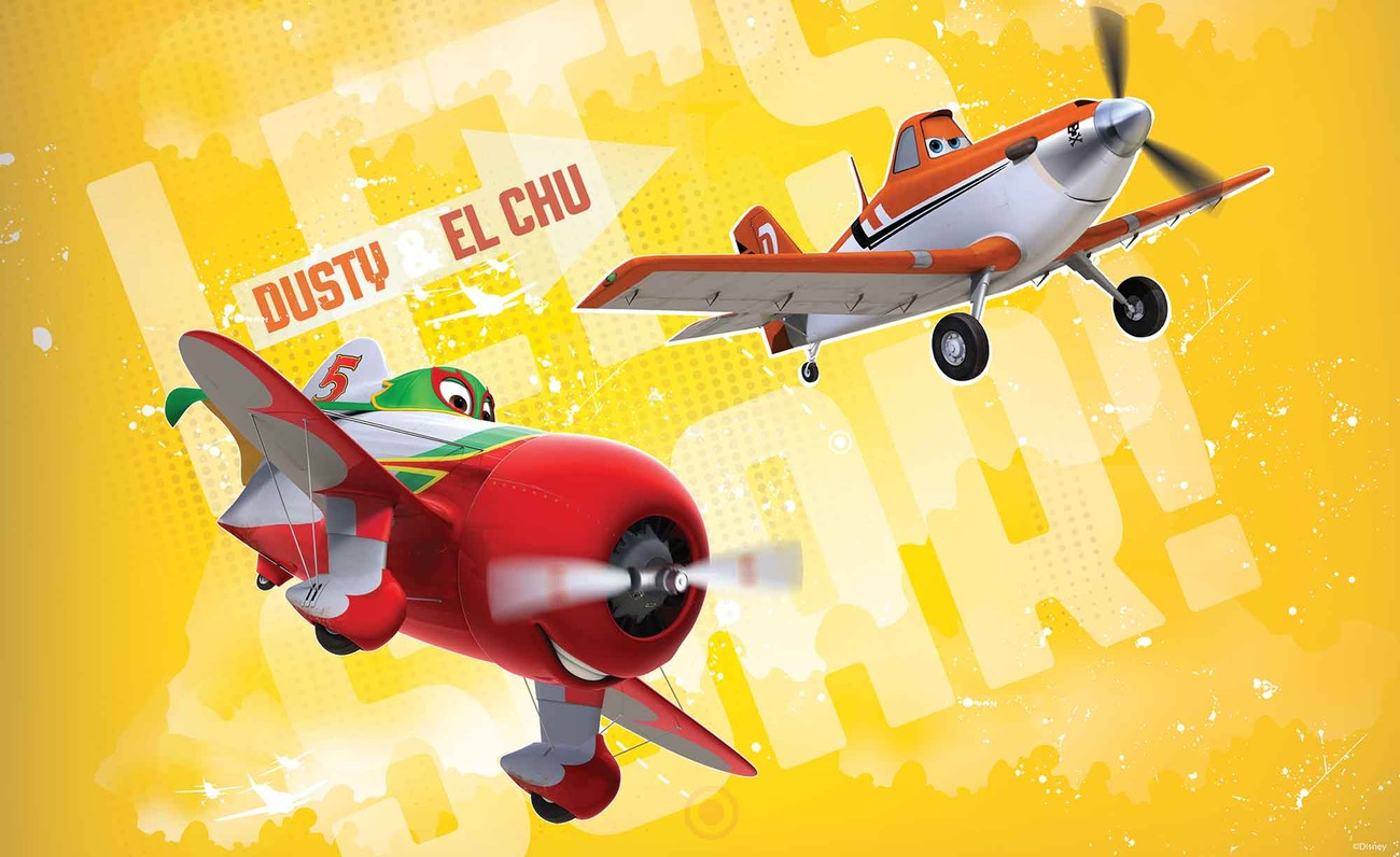 Disney Planes Wall Paper Mural | Buy at EuroPosters