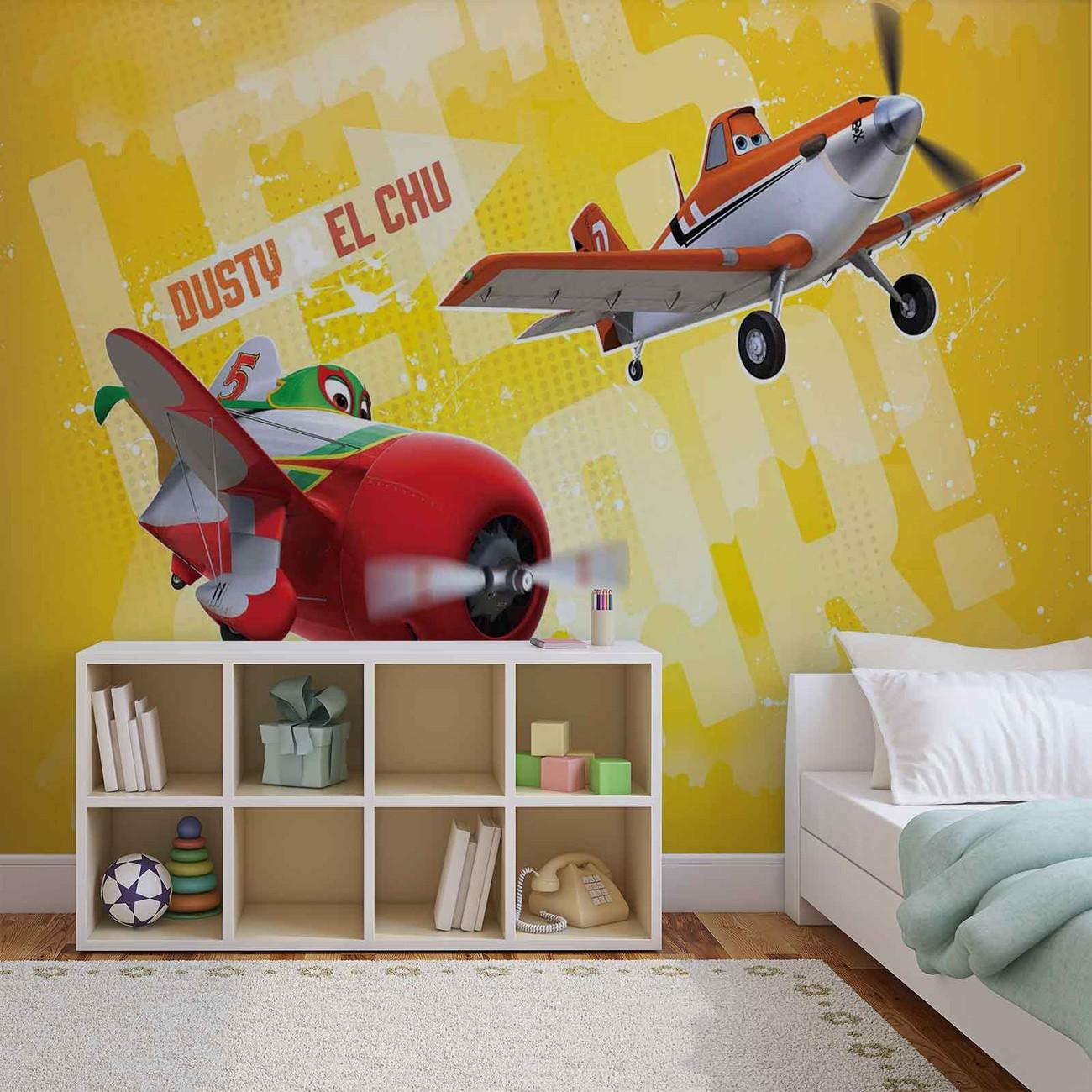 Disney Planes Wall Paper Mural   Buy at Abposters.com