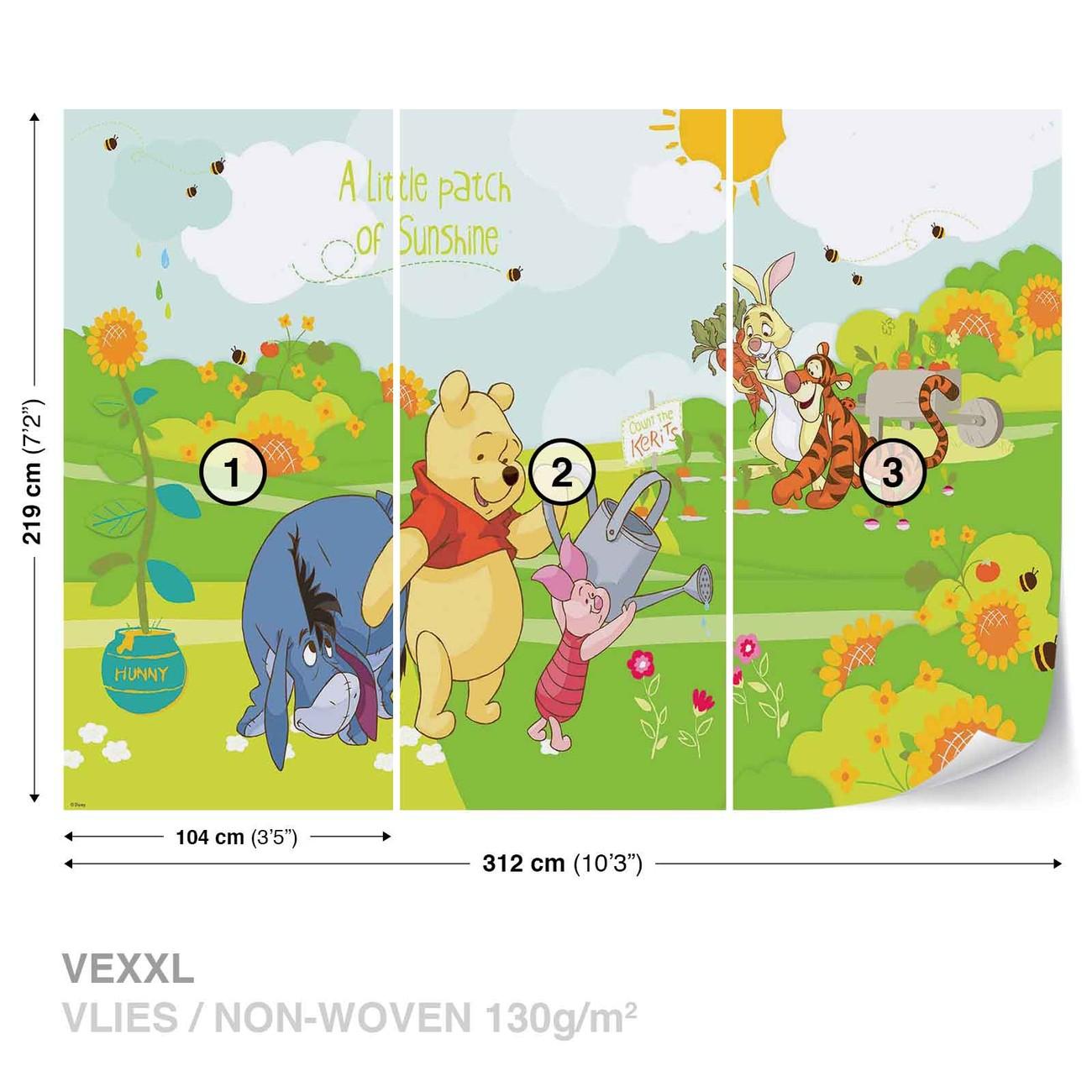 Eeyore Wall Stickers Disney Winnie Pooh Eeyore Piglet Tigger Wall Paper Mural