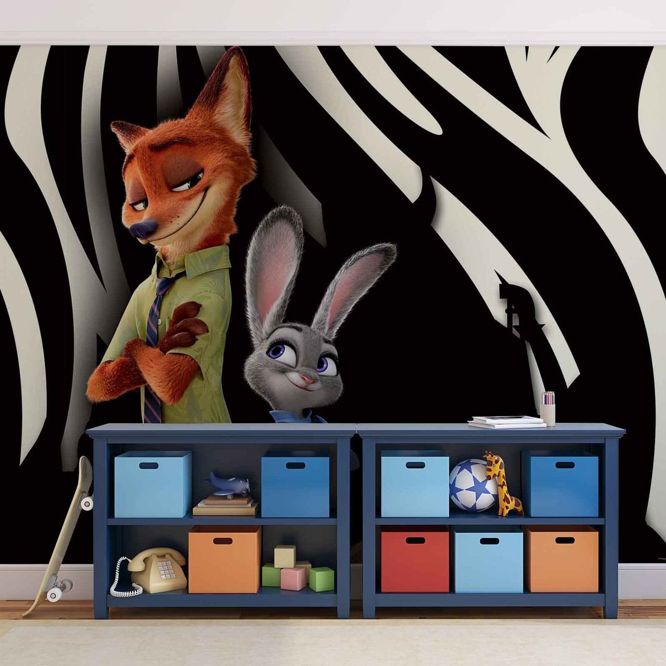 Disney Zootopia Wall Paper Mural Buy At Europosters
