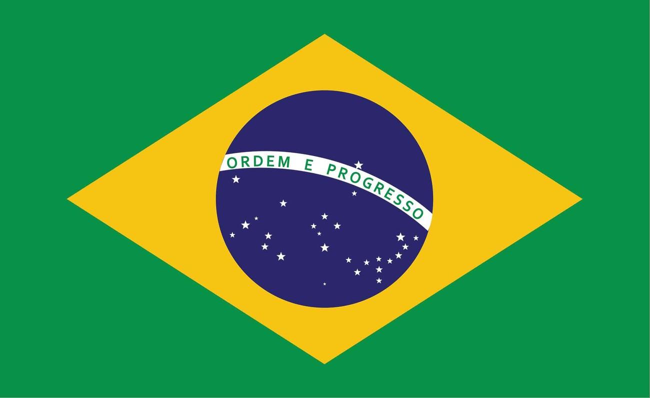 Flag Brasil Wall Paper Mural | Buy at EuroPosters