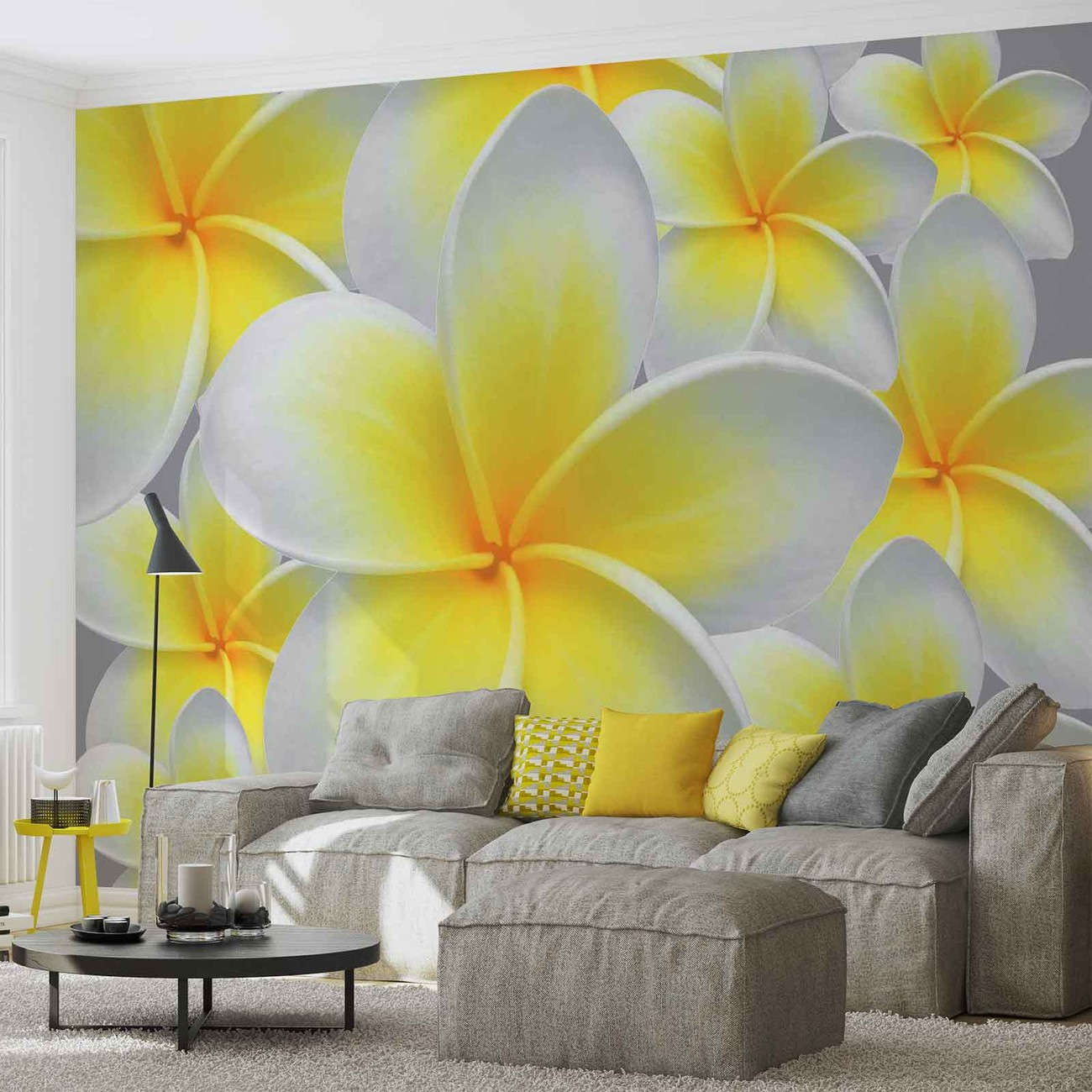 Floral Pattern Wall Paper Mural | Buy at EuroPosters