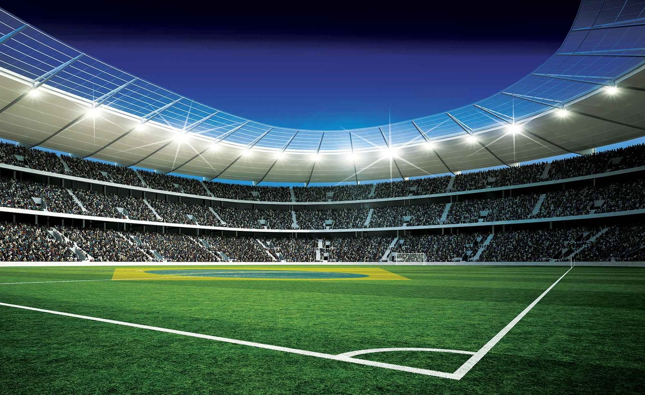 Wall Mural Posters Football Stadium Wall Paper Mural Buy At Europosters