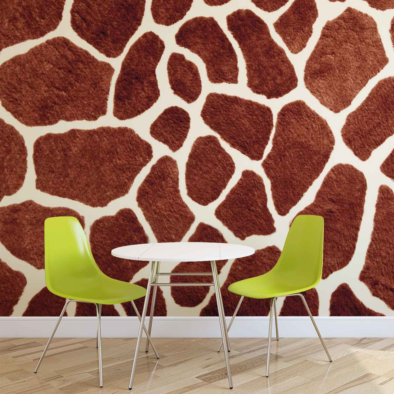 giraffe abstract wall paper mural buy at europosters