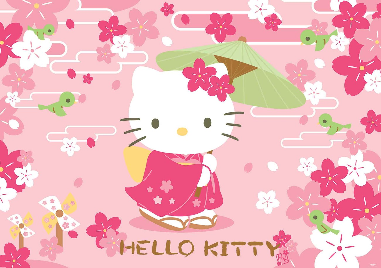hello kitty wall paper mural buy at abposters com hello kitty wall mural for your home buy at europosters