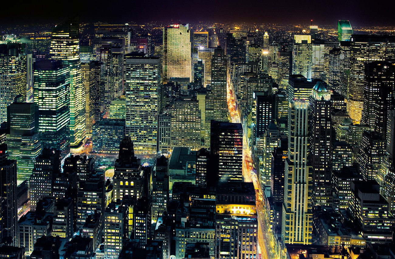 HENRI SILBERMAN NYC from the empire state building Wall Mural