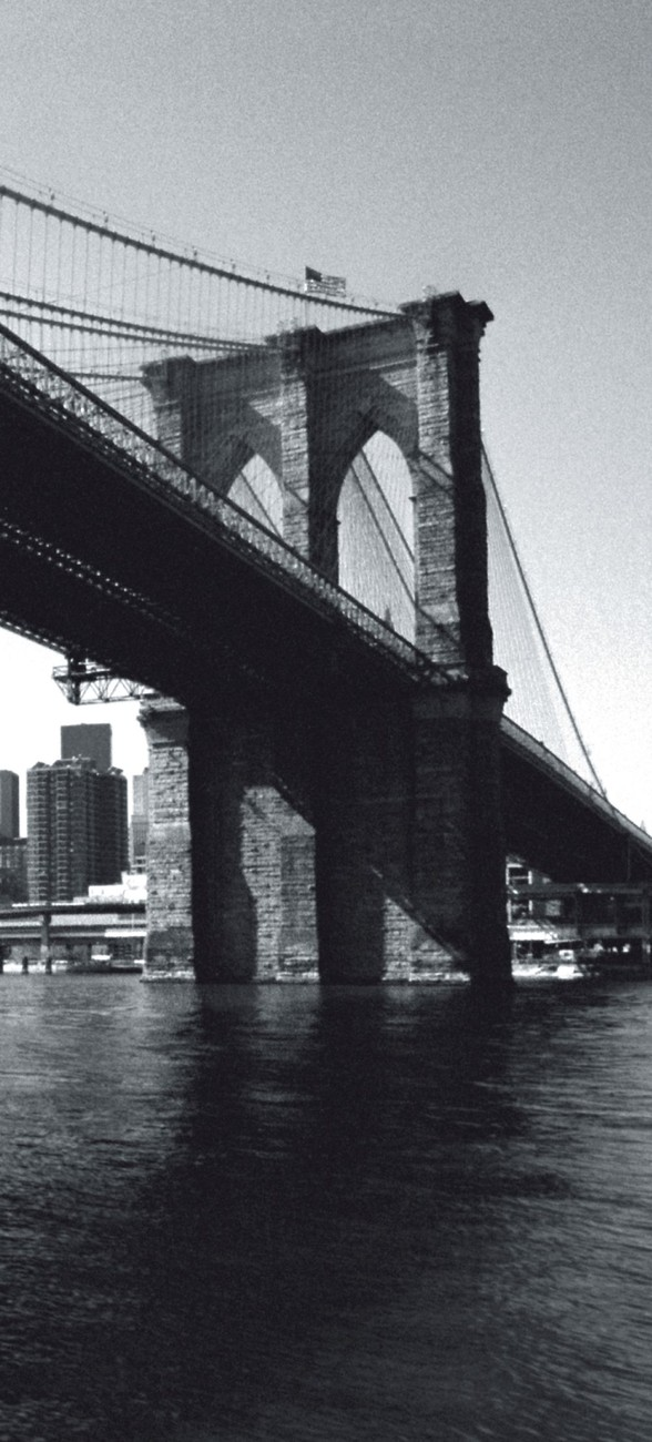 New york brooklyn bridge wall mural buy at europosters for Brooklyn bridge mural wallpaper