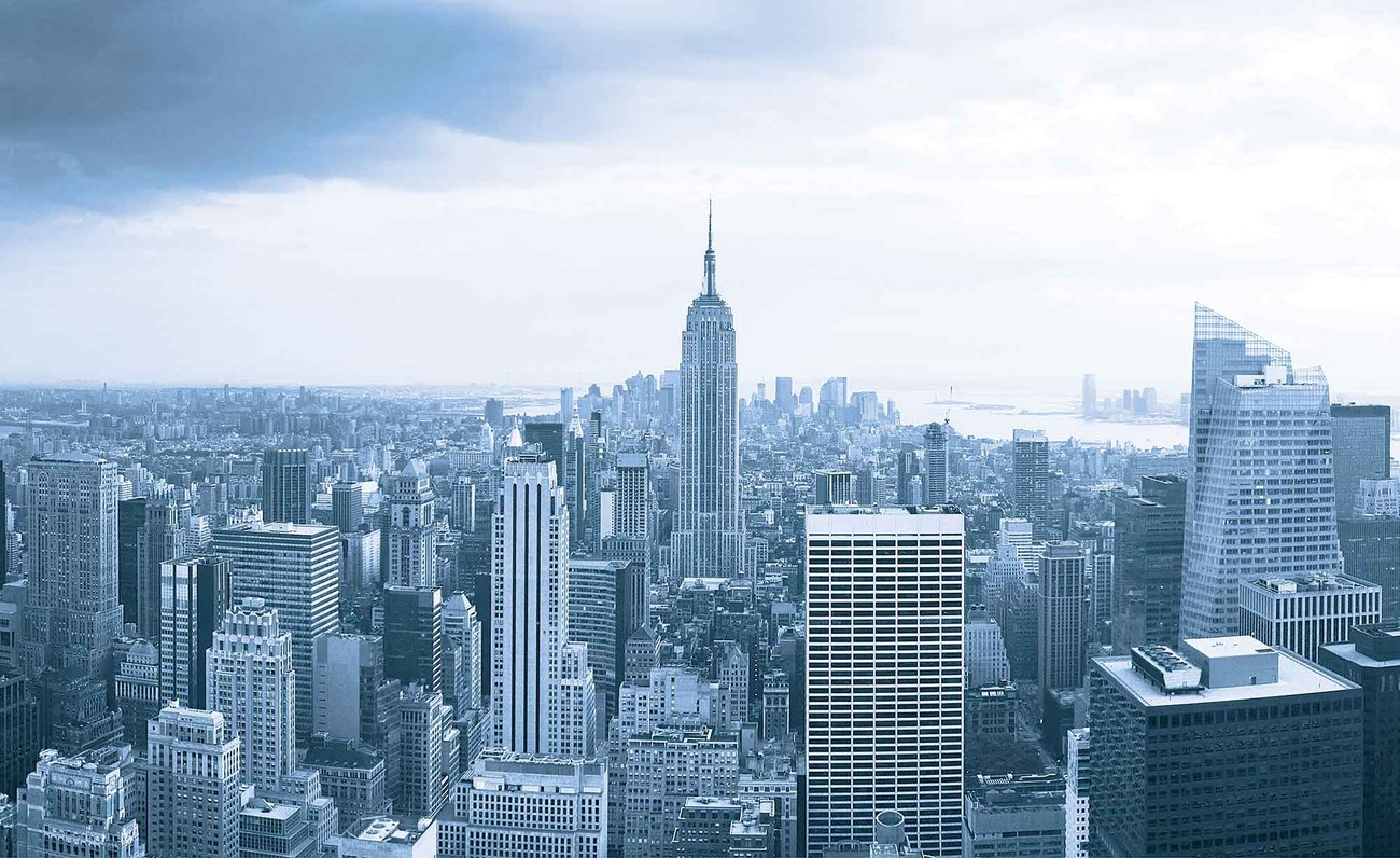 New york city empire state building wall paper mural buy for Building wall mural