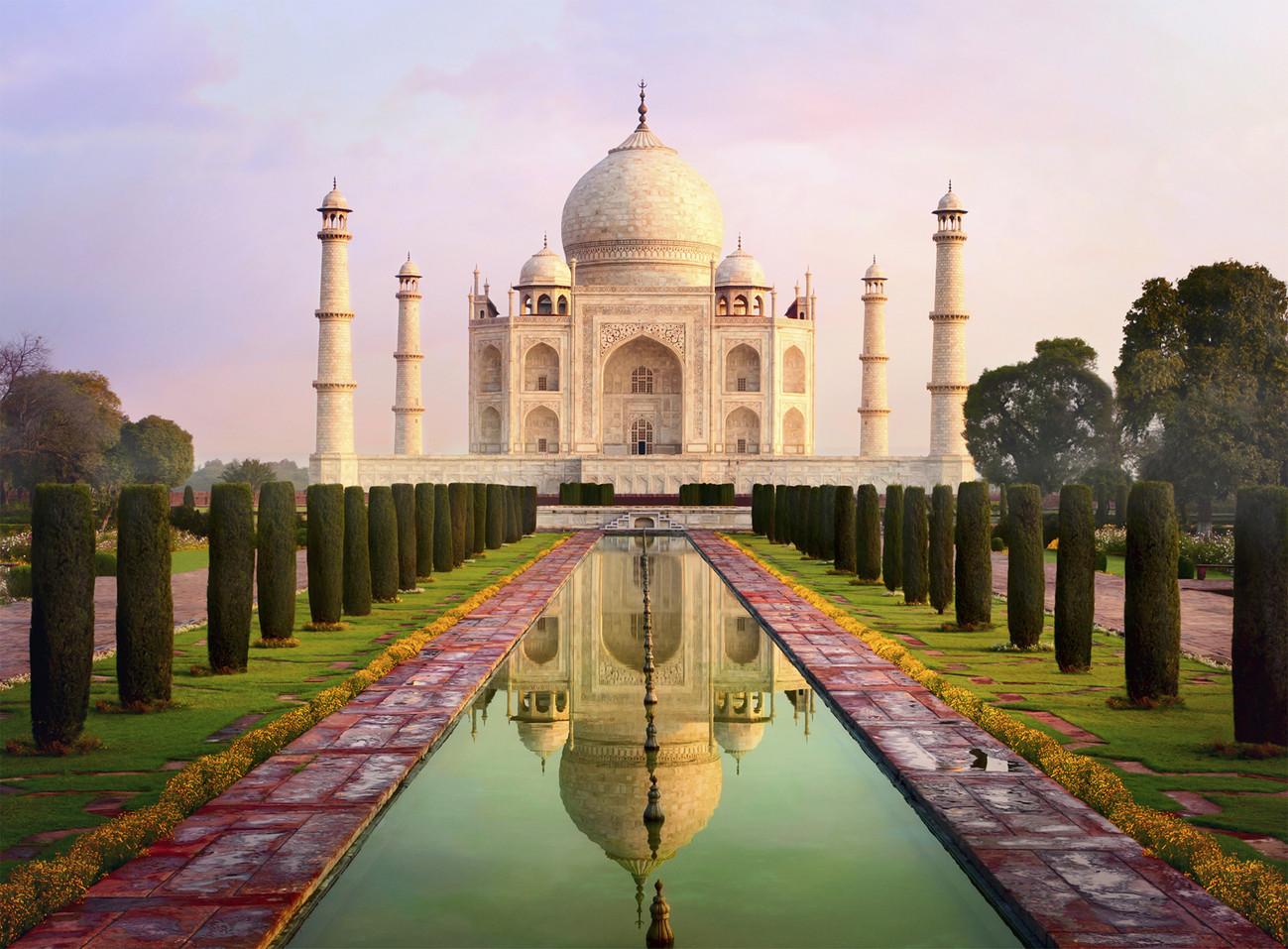 Taj Mahal Wall Mural Buy At Europosters