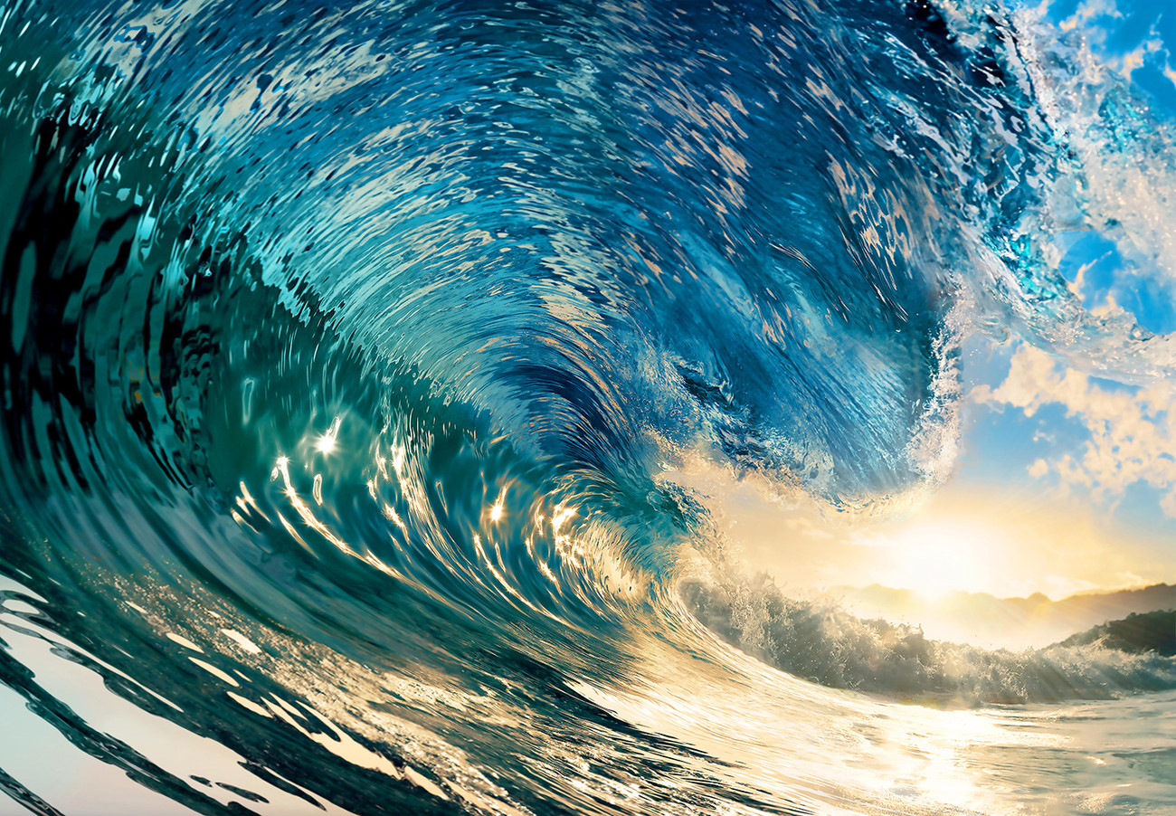 Wave Wallpaper High Resolution The Perfect Wav...