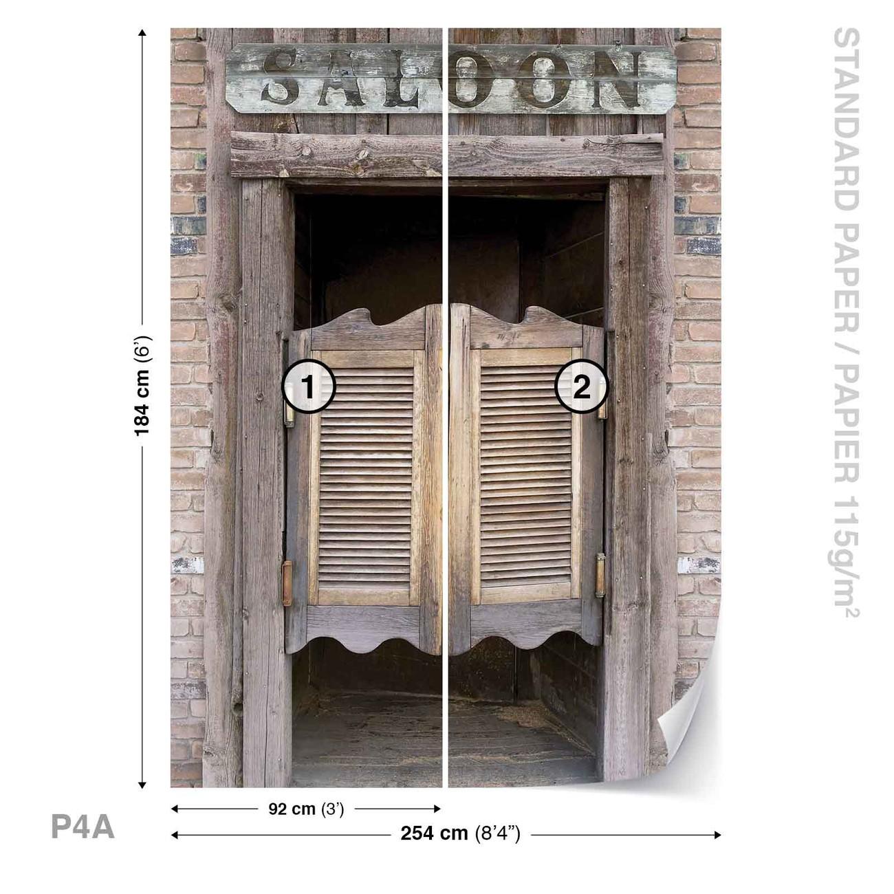Western Saloon Bar Doors Wall Paper Mural Buy At Europosters