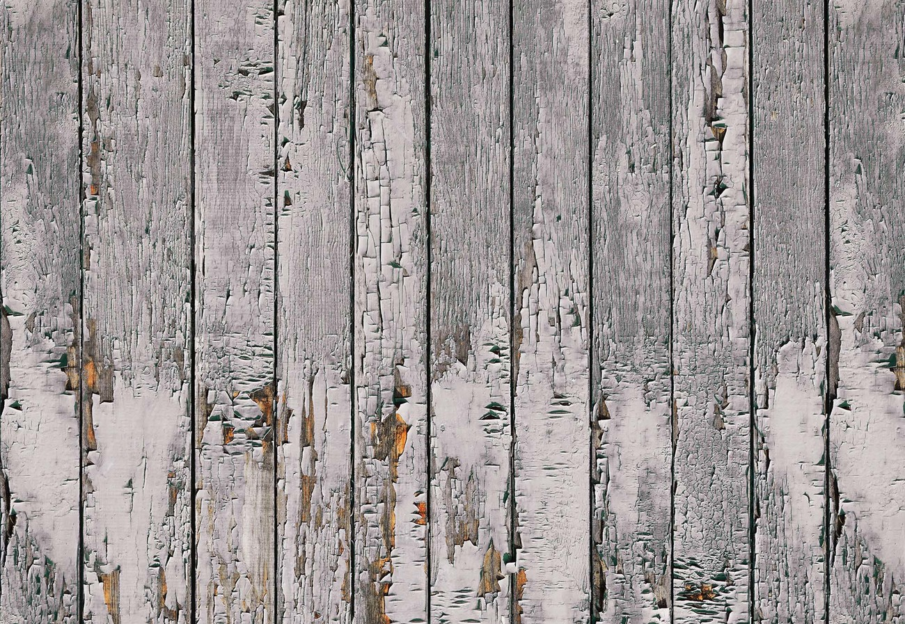 Worn Rustic Wood Plank Texture Wall