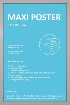 Frame - Poster 61x91,5cm Silver Fibreboard
