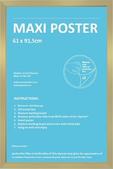 FrameFrame - Poster 61x91,5cm Gold Fibreboard