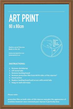 Cadre - Affiche Art 60x80cm Aggloméré plaqué pin Cadre