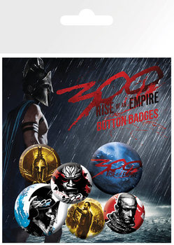 300: RISE OF AN EMPIRE Badge Pack