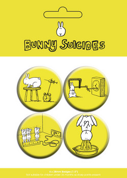 BUNNY SUICIDES - dawn of Badge Pack