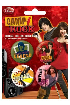 CAMP ROCK 1 Badge Pack