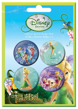 DISNEY FAIRIES Badge Pack