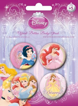 DISNEY PRINCESS 1 Badge Pack