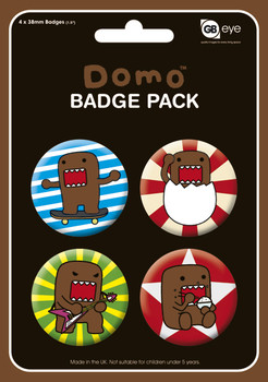 DOMO Badge Pack