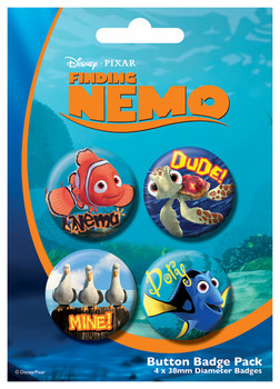 FINDING NEMO Badge Pack