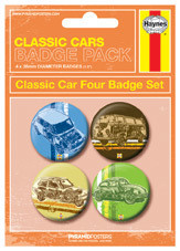 HAYNES - Classic cars Badge Pack