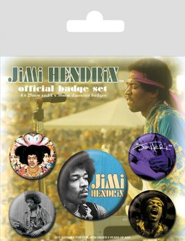Jimi Hendrix Badge