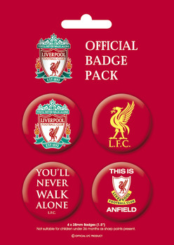 LIVERPOOL Pack 1 Badge Pack