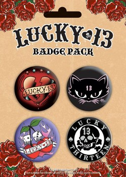 LUCKY 13 Badge