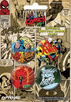 MARVEL COMICS 1 Badge
