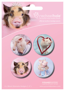 RACHAEL HALE - Pigs Badge Pack