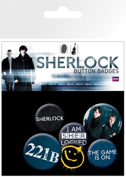 SHERLOCK - mix Badge Pack