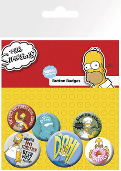 SIMPSONS Badge