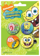 SPONGEBOB SQUAREPANTS Badge