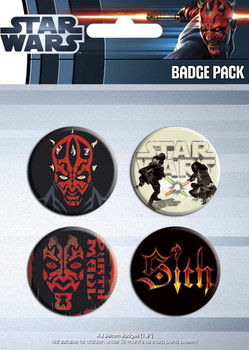 STAR WARS - darth maul Badge Pack