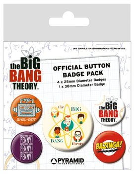 The Big Bang Theory - Characters Badge