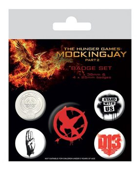 The Hunger Games Mockingjay Part 2 - Revolution Badge Pack