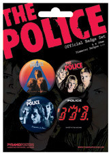 THE POLICE - Albums Badge