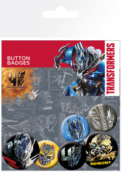 Transformers 4: Age of Extinction Badge Pack