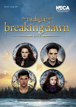 TWILIGHT BREAKING DAWN 2 Badge