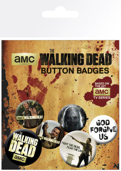 WALKING DEAD Badge Pack