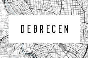 Maps of Debrecen