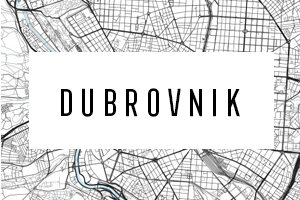 Maps of Dubrovnik