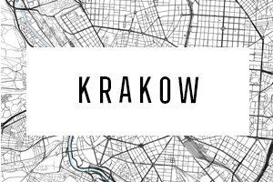 Maps of Krakow