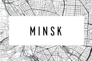 Mapas de Minsk