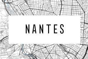Maps of Nantes