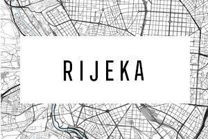 Maps of Rijeka
