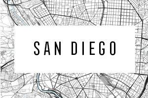 Maps of San Diego